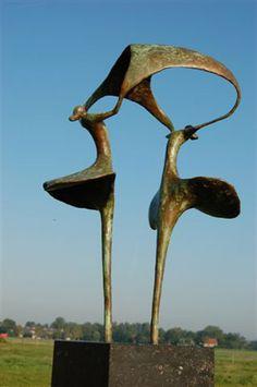 Bronzen beelden - Uitkloppen