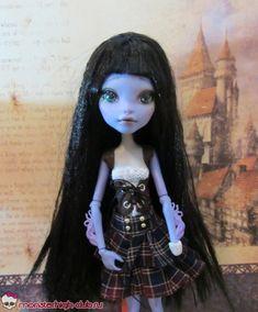 Мастер-класс: мастерим жилет-корсет для куклы Monster High | Monster High Club
