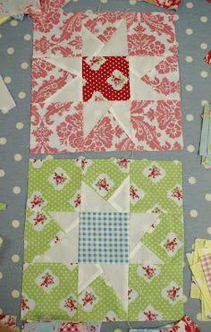Very simple quilt star block