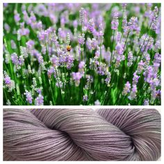 LAVENDER ~ really love these 50/50 merino/tencel skeins! Tencel is a plant fiber that feels similar to silk. It doesn't adsorb dye the same was the wool does, so the colors are often slightly muted. It's a beautiful effect. Colors: light purple, shades of mint green (I use only professional grade dyes)  Yards: +\- 413 yards  Weight: fingering, 3-ply  Fiber: 50% Superwash Merino Wool / 50% Tencel  Gauge 7 sts/in, US 0-3 needle  #yarnbaby #handdyedyarn #yarn #crochet #knit