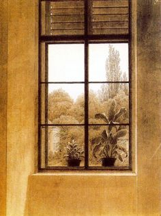 caspar david friedrich frau am fenster on artstack caspar david friedrich art windows and. Black Bedroom Furniture Sets. Home Design Ideas