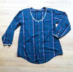 blouse chemise a partir d une chemise d'homme