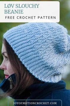 Ideas For Crochet Hat For Women Free Pattern Hooks Crochet Hat With Brim, Crochet Hat For Women, Crochet Beanie Pattern, Easy Crochet Patterns, Crochet For Kids, Hat Patterns, Crochet Ideas, Quick Crochet, Crochet Yarn