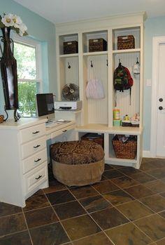 Schultea whole house addition & remodel - eclectic - laundry room - houston - Kitchen & Bath Design Studio