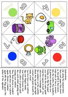 These are just a fun little freebie I made to help my kids learn their alphabet sounds.  Catchers are great as they also encourage beginning counting and colour/color recognition and spelling of the color/colour word.  The end of the game the children  say which letter the picture they land on begins with, therefore helping them with their sound recognition.