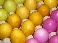 Ostereier mit Naturfarben - viele Rezepte