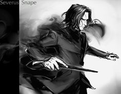 Snape And Hermione, Snape And Lily, Professor Severus Snape, Harry Potter Severus Snape, Alan Rickman Severus Snape, Severus Rogue, Harry Potter Puns, Harry Potter Drawings, Harry Potter Anime