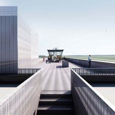 Klaus Block & Roland Poppensieker (2016): Öffnung des Flughafengebäudes Tempelhof - Tower THF, Berlin (DE), via competitionline.com