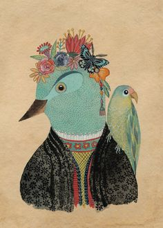 Frida+by+Geninne+on+Etsy,+$30.00