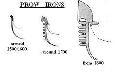 VENICE GONDOLAs - prow irons