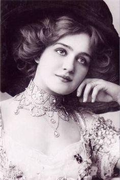 vintage gibson miss lily elsie merry widow edwardian wear - Google Search