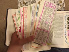 So she did. | This Girl Decorated Every Page Of A Bible For Her Boyfriend - BuzzFeed News