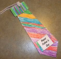 tie bookmark for father's day