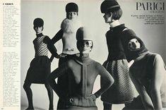 Photo by Irving Penn 1966  Vogue Italia, September 1966 - Pierre Cardin