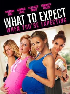 What To Expect When You're Expecting [Blu-ray + Digital Copy]: Cameron Diaz, Jennifer Lopez, Elizabeth Banks, Chace Crawford, Brooklyn Decker Good Movies To Watch, Great Movies, Awesome Movies, Instant Video, Chick Flicks, Cameron Diaz, Romantic Movies, Jennifer Lopez, Movies Online