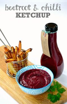 This Beetroot & Chilli Ketchup makes a vibrant and delicious homemade gift, though once you've tried it on your chips it may be too good to give away!