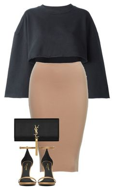 Untitled #416 by melissas-mirror on Polyvore featuring polyvore fashion style adidas Originals Yves Saint Laurent