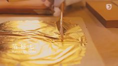Amazing Japanese Gold Leaf Decoration Technique   Bored Panda
