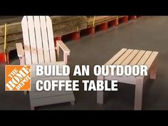 Ana White   Home Depot DIHWorkshop Adirondack Coffee Table - DIY Projects