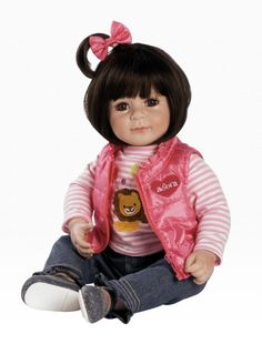 Boneca adora doll tickled pink roupinhas de bebe for Porte bebe toys r us