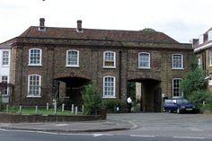 1875 Antique Print- Architecture 2 Prints Warwickshire Cottages At Walton