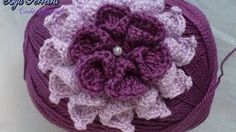 flor crochet paso a paso - YouTube