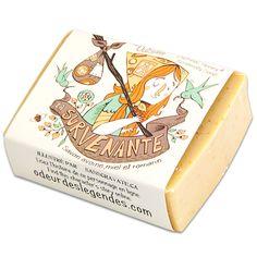 Odeur des legendes - oats, honey and rosemary soap