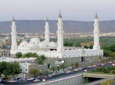 مسجد #قباء :بضم القاف سمي باسم بئر هناك وهو أول مسجد أسسه رسول الله ﷺ. #ابن_حجر رحمه الله