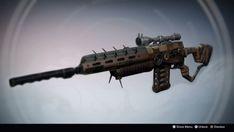King's Ambassador: Exotic Sniper Rifle Concept by DestinyWarlock