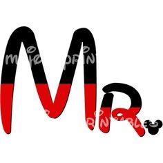 Mrs Minnie Mouse DIY iron On Printable Mickey Disney Sweatshirt... ($5) ❤ liked on Polyvore