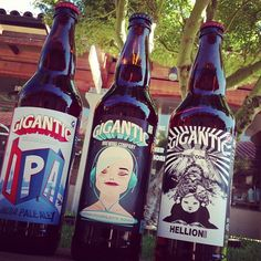 https://flic.kr/p/fCoiaM | Gigantic brewery finally arrived at the store! # 1 IPa # 12 Highbfiddelity beer and # 13 Hellion beer all brewed and bottled in Portland, Oregon! Collect them all!