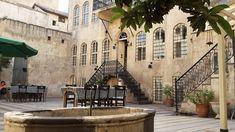 """Gaziantep'te bir ev hayadı.Ortadaki havuz,""""gane"""""""
