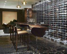wine cellar/ storage JohnHoushmand furniture and architectural features - Architizer