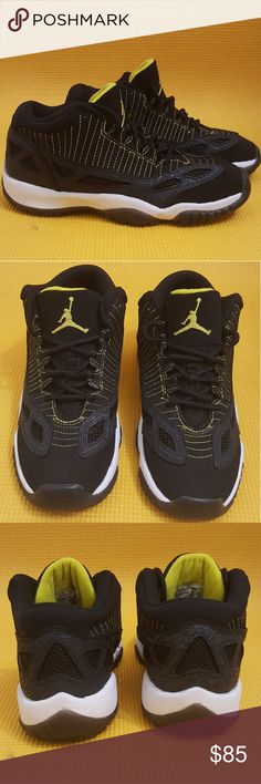Air Jordan Retro 11 Lowjor Black Zest NWOT Air Jordan Retro 11 Low IE Black  Zest 70507c021
