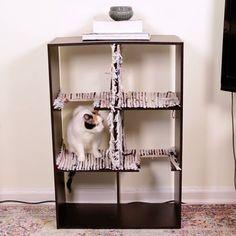 Upcycled Shelf Cat Tree