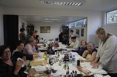 HOBBYKUNST: Thanks to Prima & Sherry for a wonderful week!