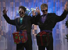 "Justin Timberlake & Andy Samberg ""D*** In A Box"" - makes me laugh just thinking about it"