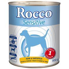Animalerie  Rocco Sensitive 6 x 800 g pour chien  agneau riz