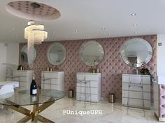 Upholstery, Vanity, Mirror, Furniture, Home Decor, Dressing Tables, Tapestries, Powder Room, Decoration Home