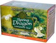 iHerb Magical Grass Healthiest Tea on Earth Dragon Herbs, Spring Dragon Longevity Tea, Caffeine Free