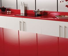 Axiom by Formica® Gloss kitchen worktops
