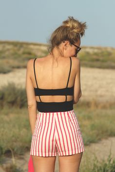 High waisted Stripes