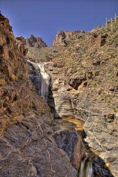 7 Falls, Sabino Canyon Recreation Area, Tucson, Arizona; photo by Danilo Faria