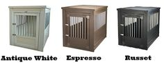 Wooden Dog Crates That Look Like Furniture - Luxury Crate End Tables Decorative Dog Crates, Wooden Dog Crate, Wooden Dog Kennels, Dog Kennel End Table, Dog Crate End Table, Best Pet Dogs, Online Dog Training, Dog Crate Furniture, Airline Pet Carrier