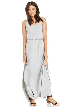 DailyLook: DAILYLOOK Drop Waist Maxi Dress
