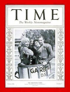TIME Magazine Cover: Groucho, Harpo, Chico & Zeppo Marx -- Aug. 15, 1932