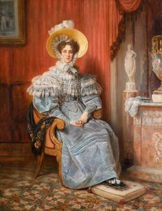 1832. Princess Maria Elizabeth Amalie Franziska Wagram of Bavaria (1784–1849), Princess Wagram.