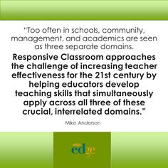 Effective Teachers Need 21st Century Teaching Skills   by Mike Anderson