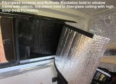 Cheap Green RV Living website has an article Dealing with Heat and Cold