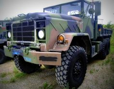 M923A1 5-Ton, 6x6, Cargo Truck with a 14-foot Dropside Cargo Body on GovLiquidation.com! Is this the ultimate BOV?